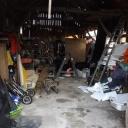 Op dit moment een opslagruimte: na de zomer van 2015 een timmerwerkplaats?