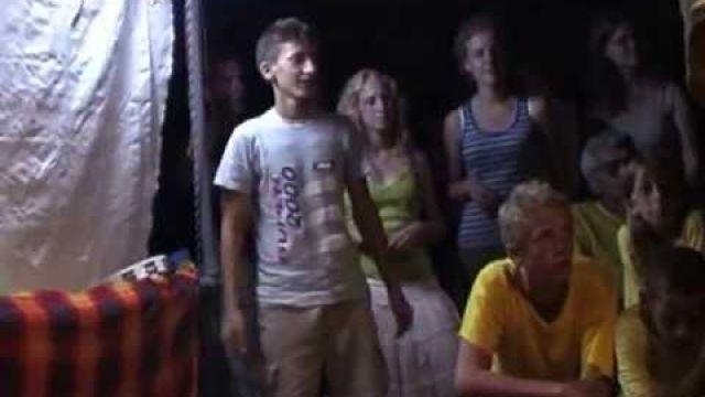 Zomer 2007: bezoek jeugdgroep Jonah gemeente Ede