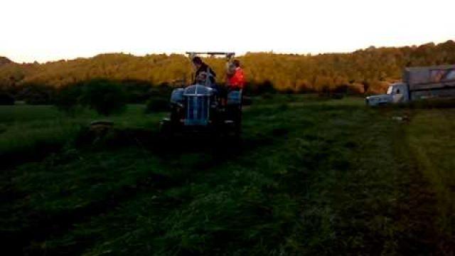 Tractor rijden in Kroatie